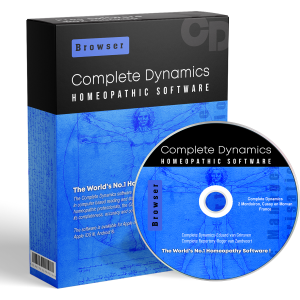 Complete Dynamics world's no.1 homoeopathic homeopathic software
